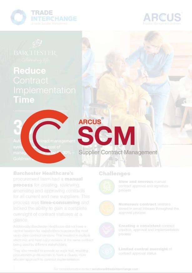 Barchester Healthcare SCM Case Study