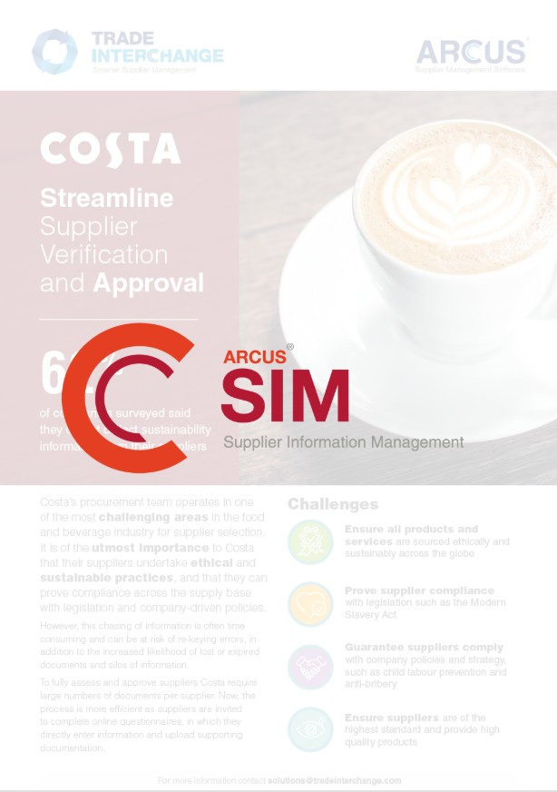 Costa Coffee SIM Case Study