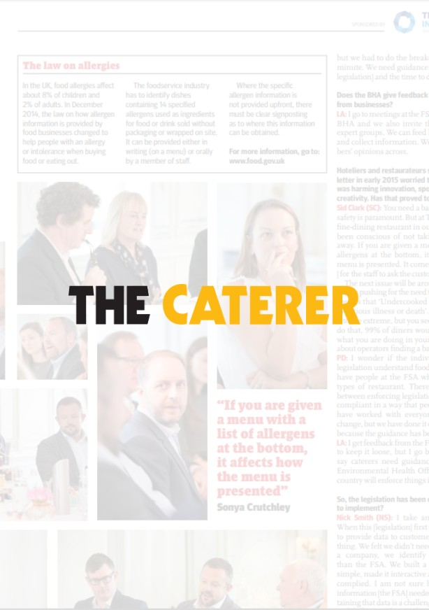 The Caterer Allergens Roundtable