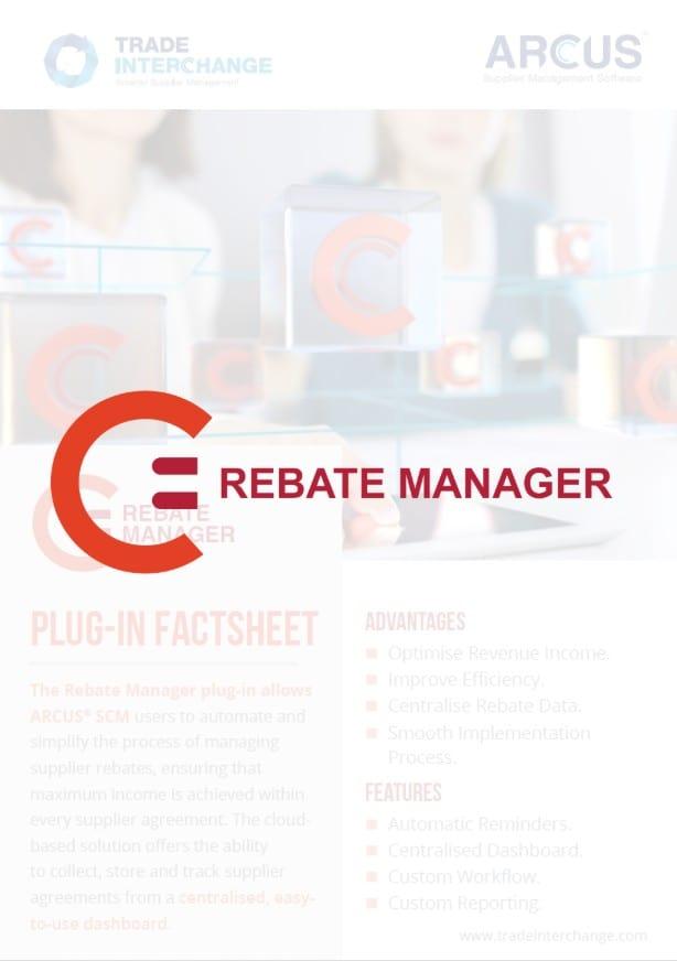 Rebate Manager Factsheet