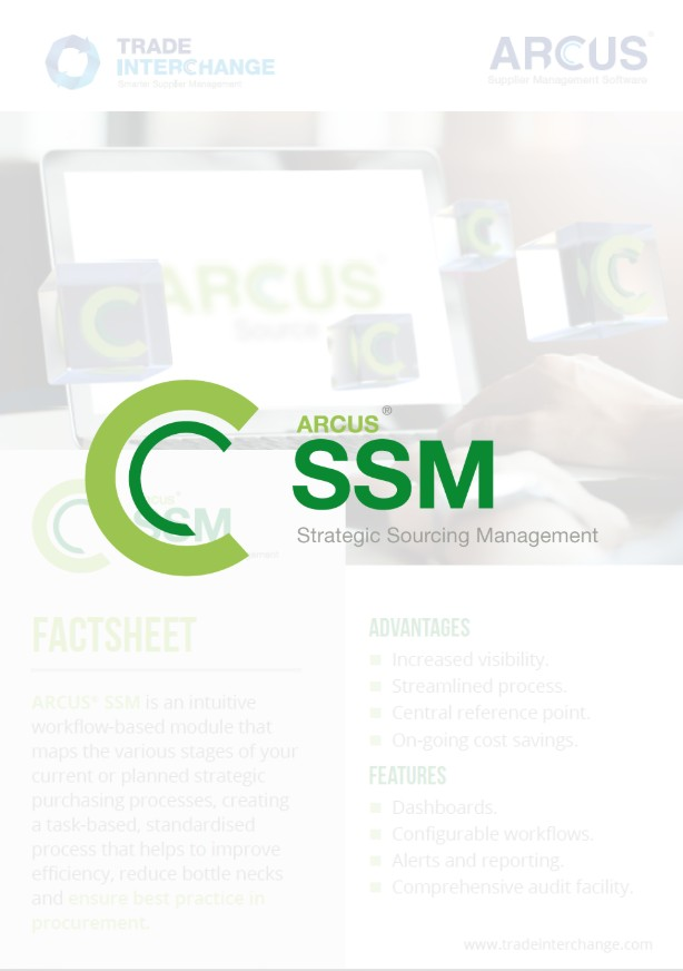 Strategic Sourcing Management Factsheet