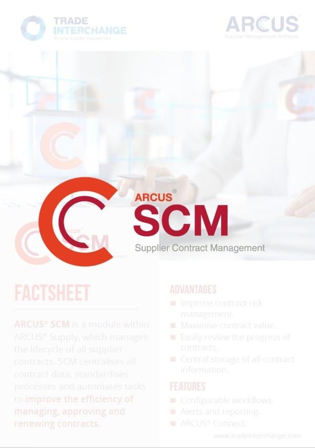Supplier Contract Management Factsheet