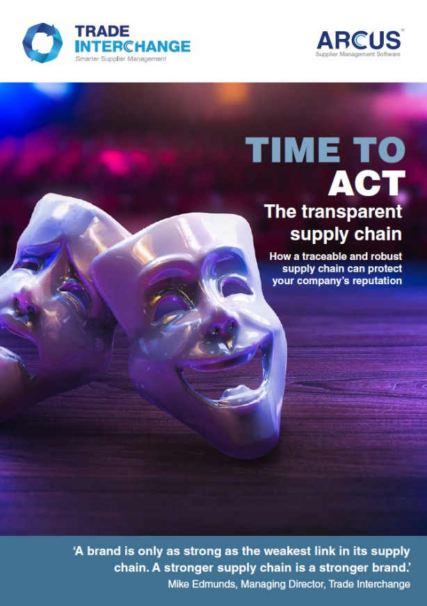 Time to Act - The transparent supply chain