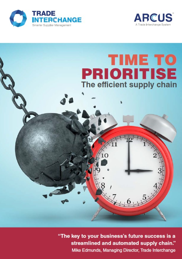 Time to prioritise - the efficient supply chain