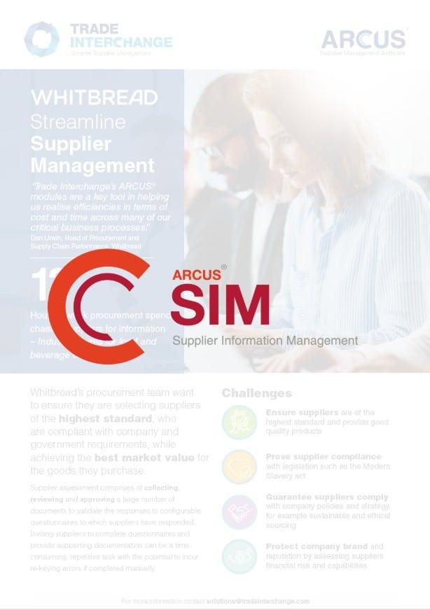 Whitbread SIM Case Study