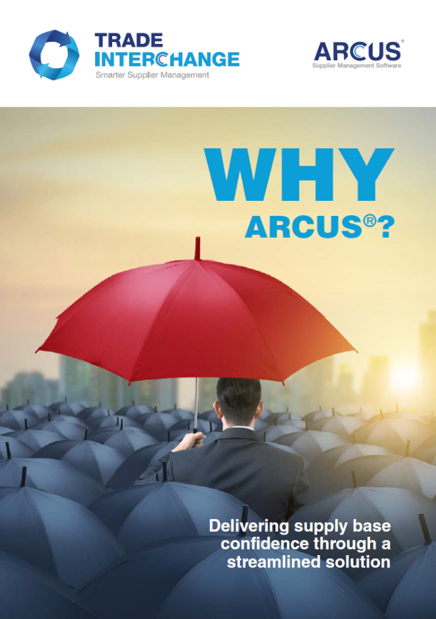 Why ARCUS® Supplier Management Software