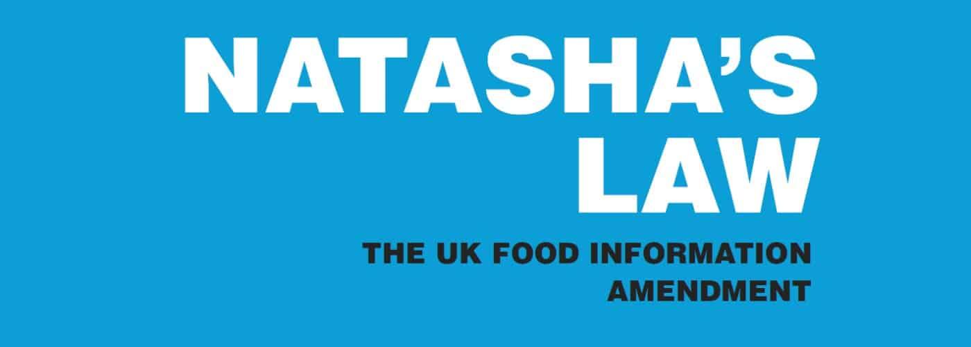 Natasha's Law banner